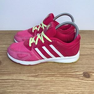Adidas Hot Pink Girls Shoes Size 3